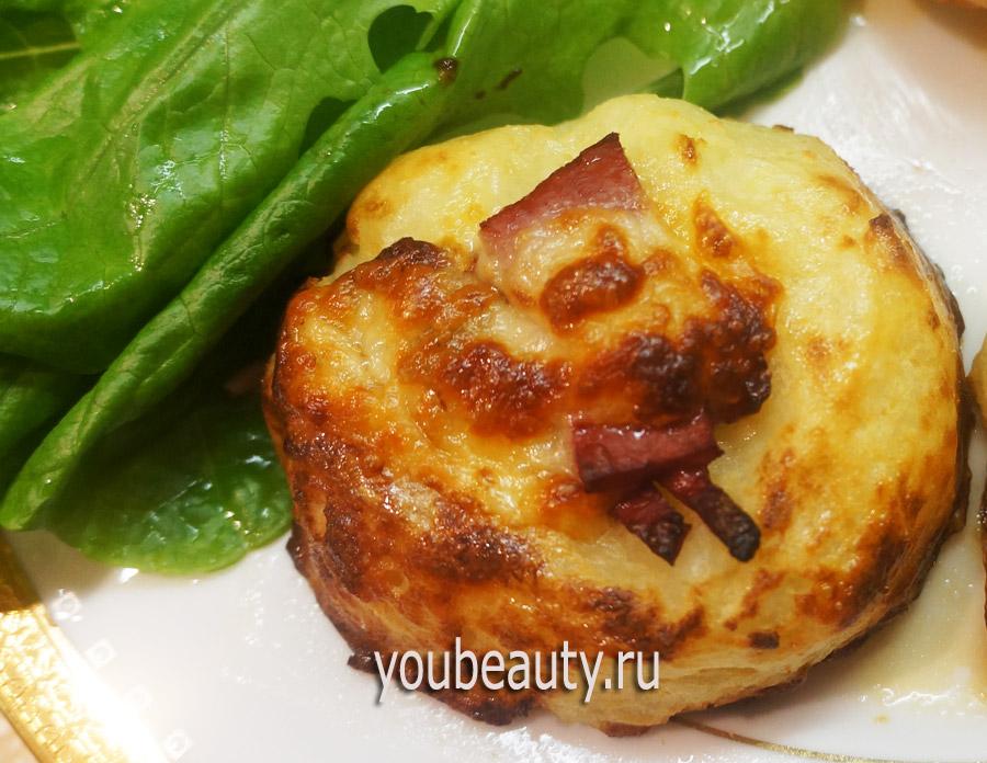 Картофельные ватрушки