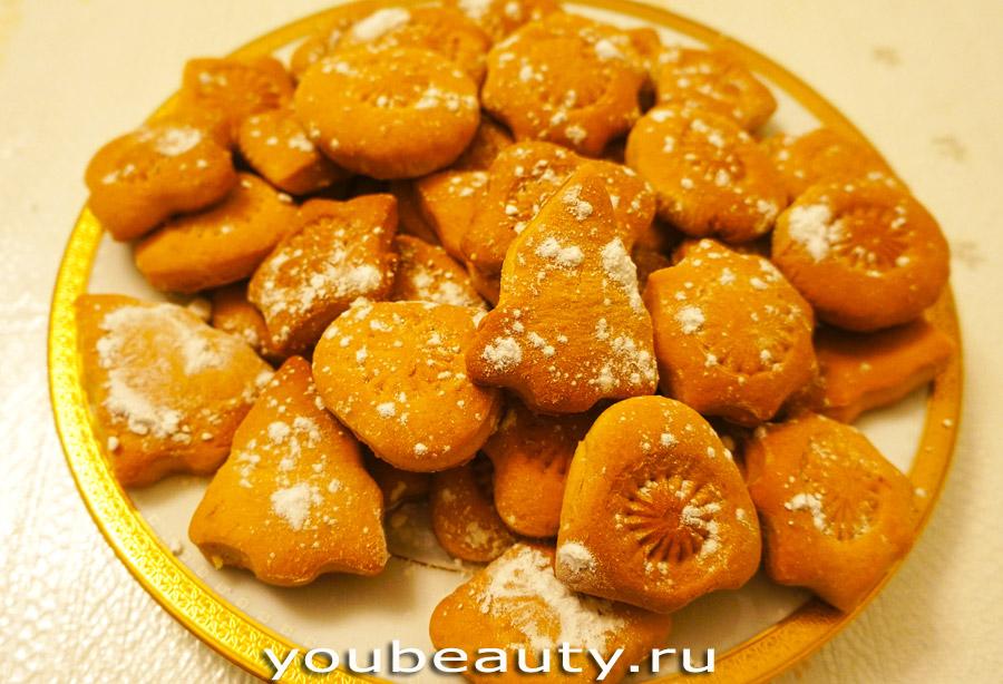 Песочное печенье с апельсиновой цедрой