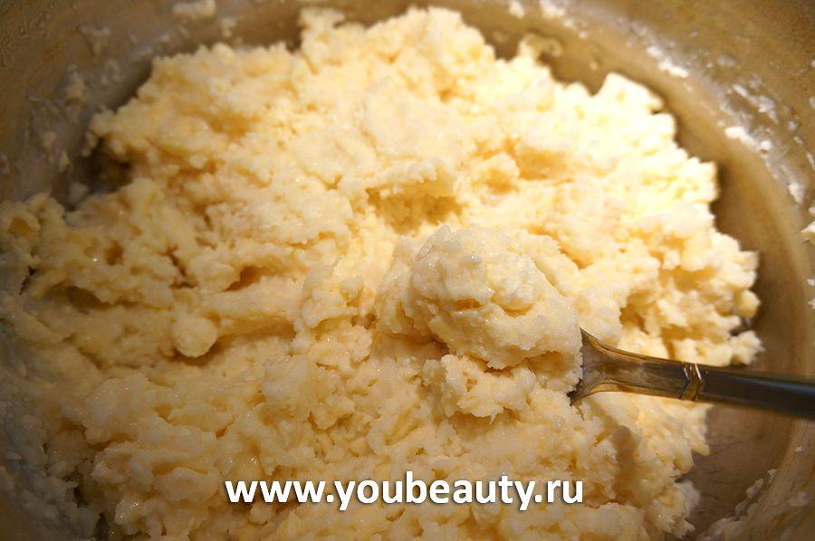 Осетинский пирог с картофельной начинкой