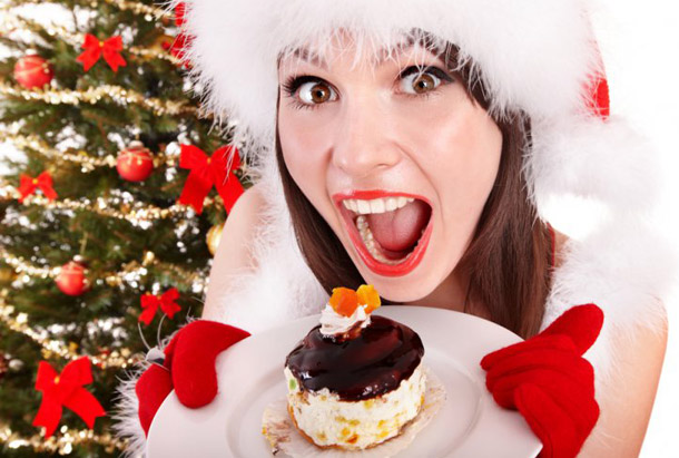 Как в Новый год избежать новых лишних килограммов?