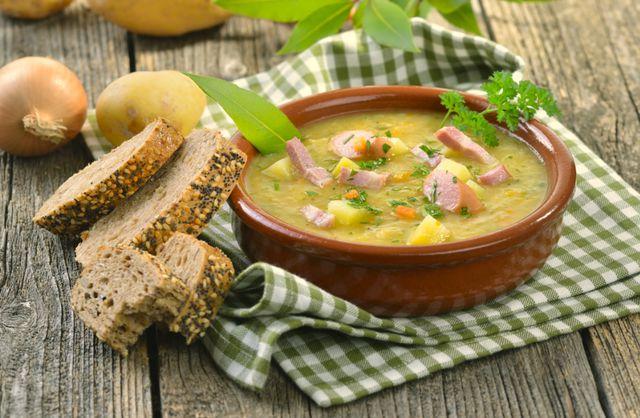 Готовим бюджетный суп за двадцать пять минут