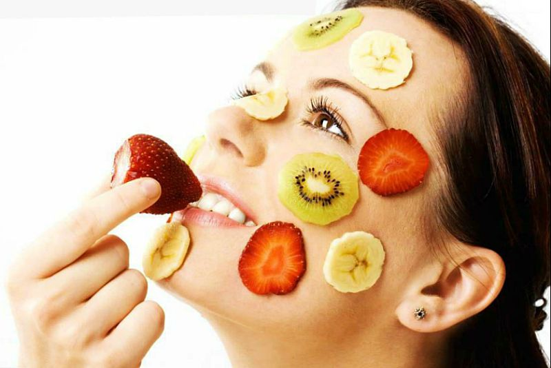 Полезные фруктовые маски для здорового цвета лица
