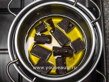 Настоящий чёрный шоколад