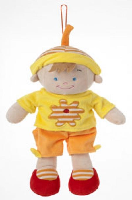 Новинка от «Мира детства»: текстильные куклы для самых маленьких