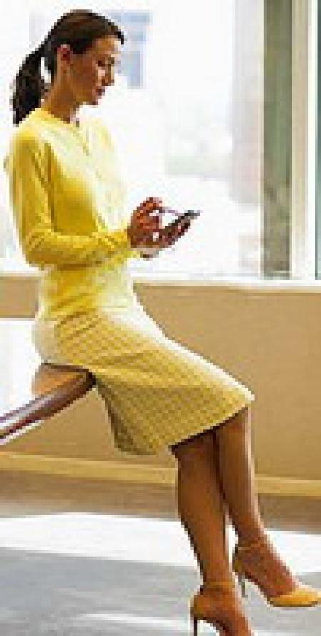 Платье – в офис? Легко!
